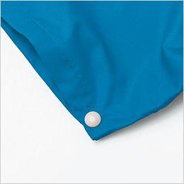 KU91720 [春夏用]空調服 半袖ブルゾン ポリ100% 調整ボタン