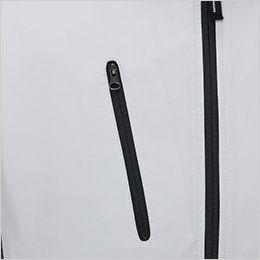 ジーベック XE98004 [春夏用]空調服 半袖ブルゾン ポリ100% ファスナー付きポケット