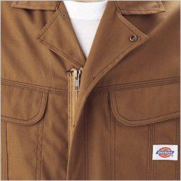 21-701 ディッキーズ 制電長袖ツナギ カラーステッチ三重環縫い