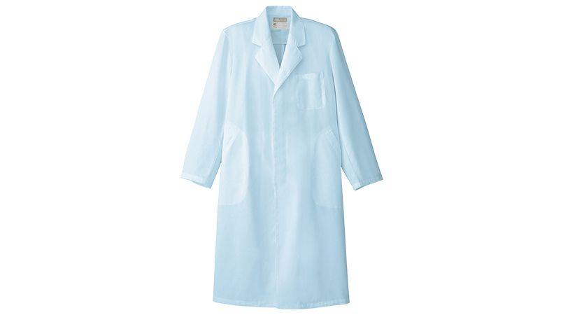 861313 アイトス/ルミエール ドクターコート(男性用)診察衣シングル 比翼ボタン 商品詳細・こだわりPOINT