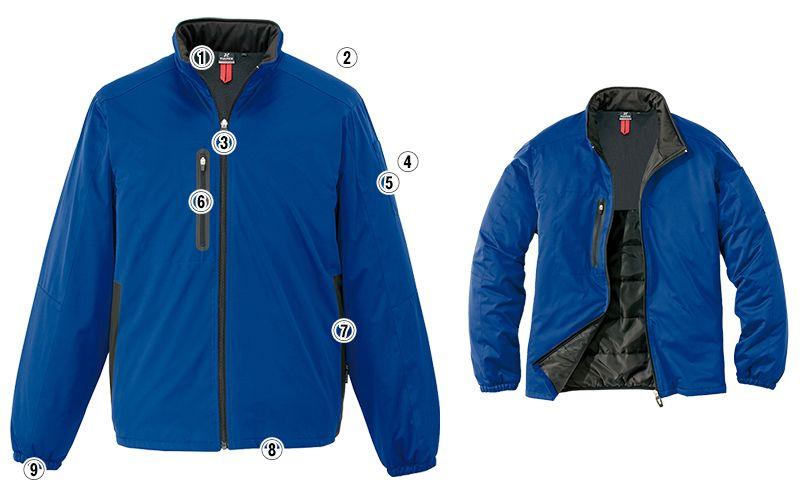 アイトス AZ10307 タルテックス [秋冬用]軽量防寒ジャケット 商品詳細・こだわりPOINT