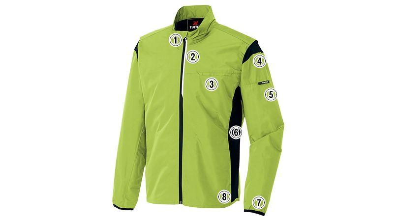 アイトス AZ50113 アームアップジャケット(スタッフブルゾン) 商品詳細・こだわりPOINT