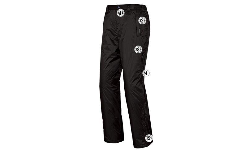 AZ50117 アイトス 防寒パンツ(男女兼用) 商品詳細・こだわりPOINT