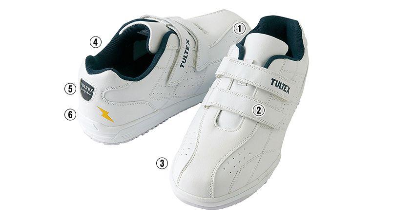 AZ51626 アイトス タルテックス 安全靴 スチール先芯 商品詳細・こだわりPOINT