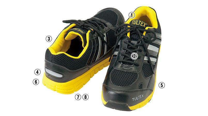 AZ51634 アイトス タルテックス 安全靴 スチール先芯 商品詳細・こだわりPOINT