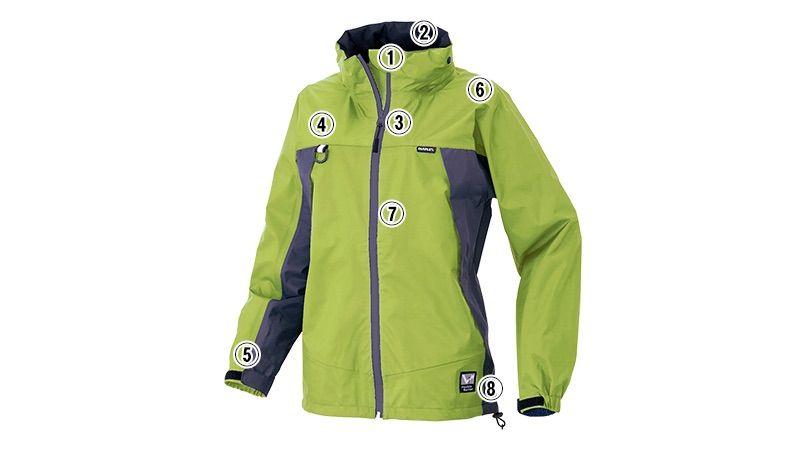 アイトス AZ56312 ディアプレックス 全天候型レディースジャケット(女性用) 商品詳細・こだわりPOINT