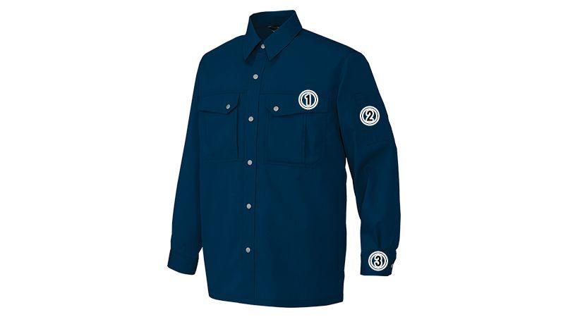 アイトス AZ5665 帯電防止ツイルシャツ/長袖(薄地) 春夏 商品詳細・こだわりPOINT