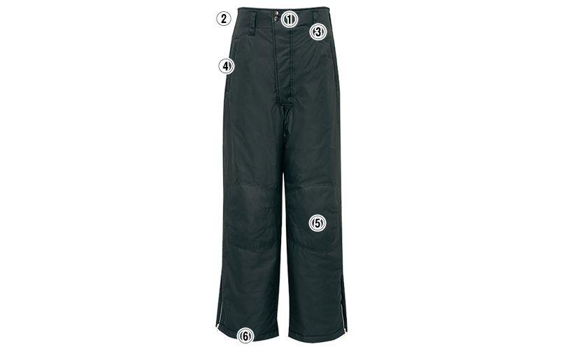 アイトス AZ6062 寒冷地対応 光電子 防風防寒着ズボン 商品詳細・こだわりPOINT