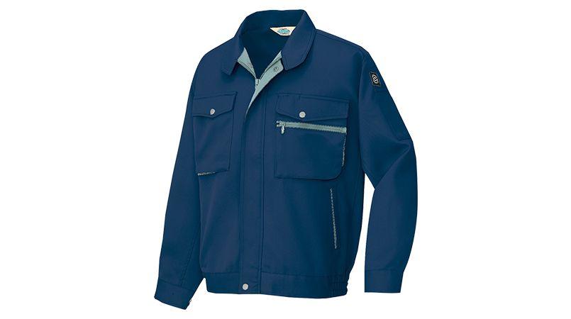 AZ6301 アイトス 裏綿 帯電防止エコ長袖ブルゾン 商品詳細・こだわりPOINT