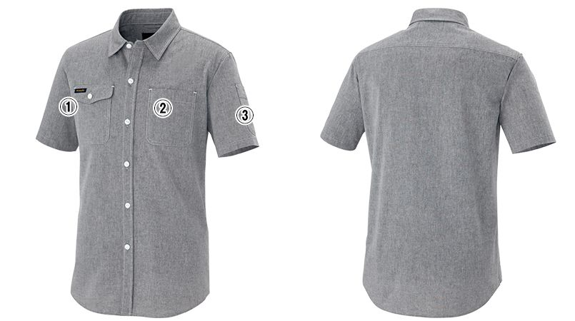 AZ64437 Wrangler(ラングラー) 半袖シャツ(男女兼用) 商品詳細・こだわりPOINT
