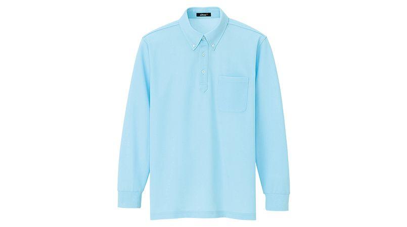 AZ7616 アイトス ボタンダウン 長袖ポロシャツ(男女兼用) 商品詳細・こだわりPOINT