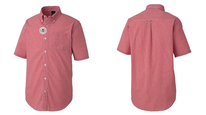 AZ7825 アイトス カナディアンクリーク 半袖T/Cギンガムチェックシャツ(男女兼用) 商品詳細・こだわりPOINT