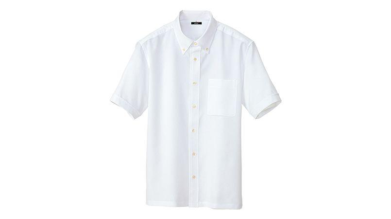 [在庫限り/返品交換不可]AZ8054 アイトス 半袖ボタンダウンシャツ(男女兼用) 商品詳細・こだわりPOINT