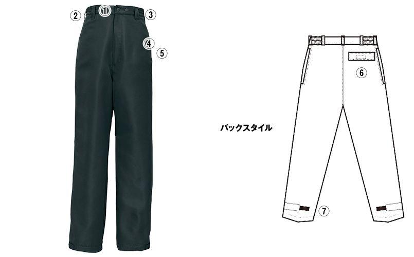 AZ8462 アイトス エコノミー防寒パンツ 商品詳細・こだわりPOINT