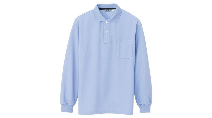CL1001 アイトス 長袖クイックドライポロシャツ(男性用) 商品詳細・こだわりPOINT