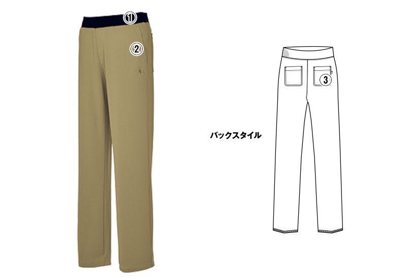 UZL2041 ルコック テーパードパンツ(男女兼用) 商品詳細・こだわりPOINT