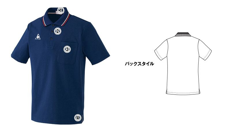 UZL3011 ルコック ライン ドライポロシャツ(男女兼用) 商品詳細・こだわりPOINT