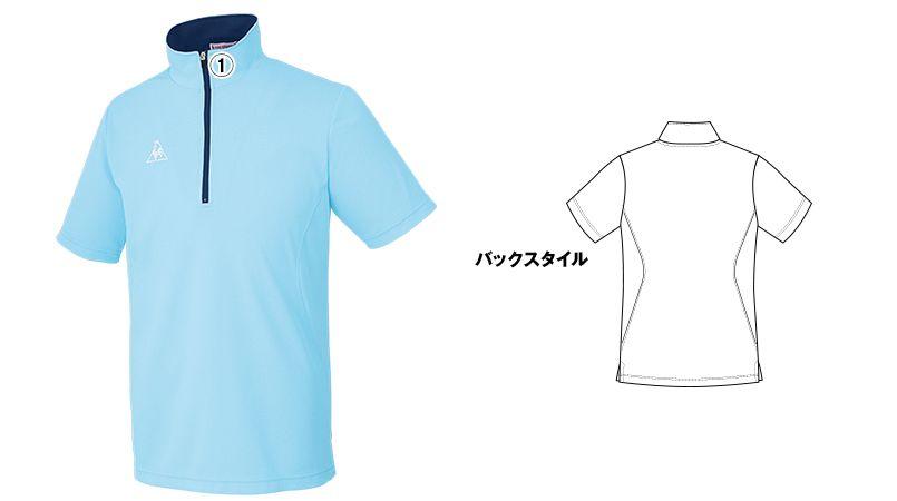 UZL3015 ルコック ジップポロシャツ(男女兼用) 商品詳細・こだわりPOINT