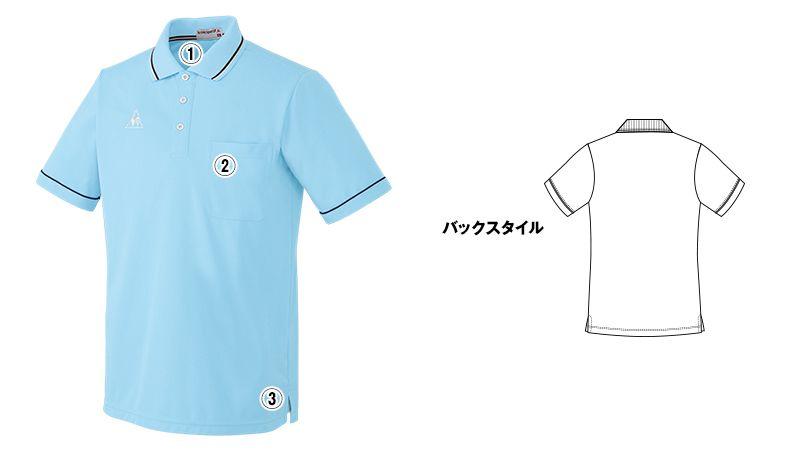 UZL3021 ルコック ライン ドライポロシャツ(男女兼用) 商品詳細・こだわりPOINT