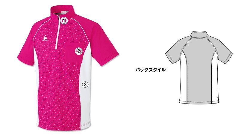 UZL3027 ルコック ジップアップポロシャツ(男女兼用) 商品詳細・こだわりPOINT