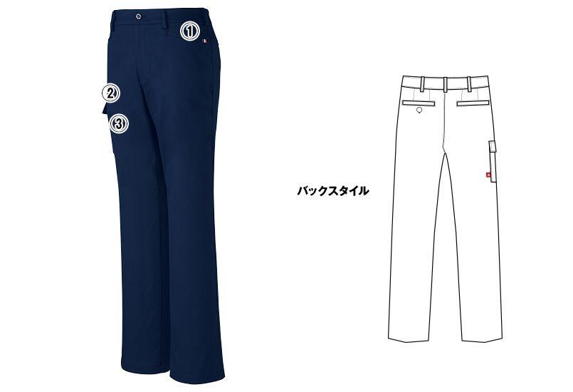 UZL4023 ルコック カーゴスラックスパンツ(男女兼用) 商品詳細・こだわりPOINT