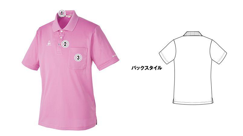 UZL8022 ルコック 半袖ドライポロシャツ(男女兼用) ポケ付き 商品詳細・こだわりPOINT