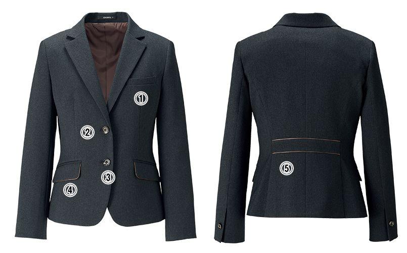 AJ0260 BONMAX/トラッドパターン ジャケット 無地 商品詳細・こだわりPOINT