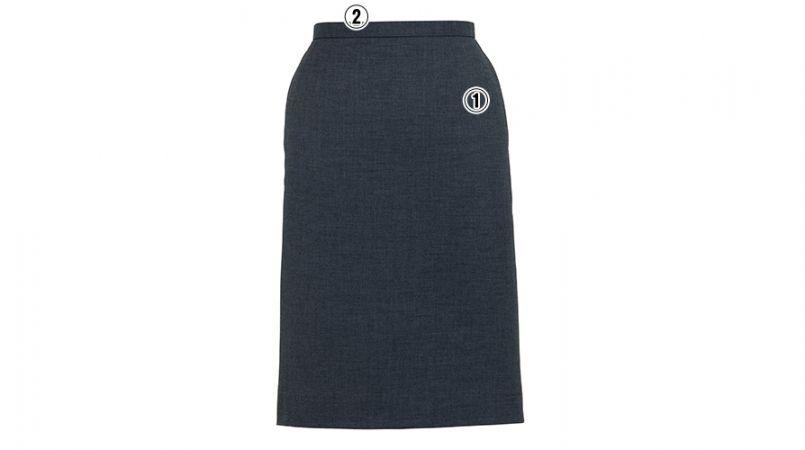 BONMAX AS2268 [通年]セゾン 消臭加工剤が不快なニオイを消臭するタイトスカート 無地 商品詳細・こだわりPOINT