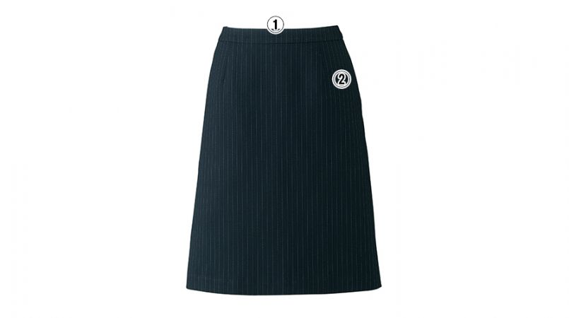 BONMAX AS2284 [通年]リアン Aラインスカート ストライプ 商品詳細・こだわりPOINT