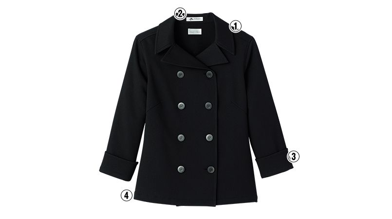 FB4013L FACEMIX コックシャツ(女性用) 商品詳細・こだわりPOINT
