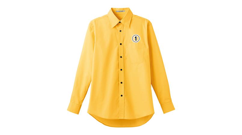 FB4526U FACEMIX ブロードレギュラーカラーシャツ/長袖(男女兼用) 商品詳細・こだわりPOINT