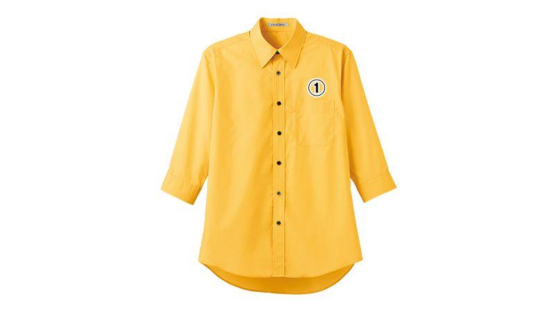 FB4528U FACEMIX ブロードレギュラーカラーシャツ/七分袖(男女兼用) 商品詳細・こだわりPOINT