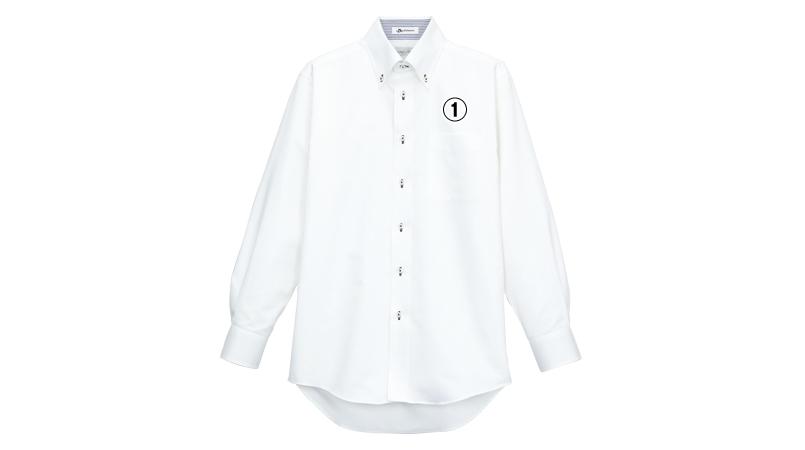 FB5010M FACEMIX 吸汗速乾シャツ/長袖(男性用)ボタンダウン 商品詳細・こだわりPOINT