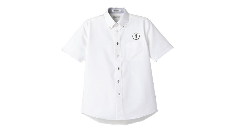 FB5013M FACEMIX 吸汗速乾シャツ/半袖(男性用)ボタンダウン 商品詳細・こだわりPOINT