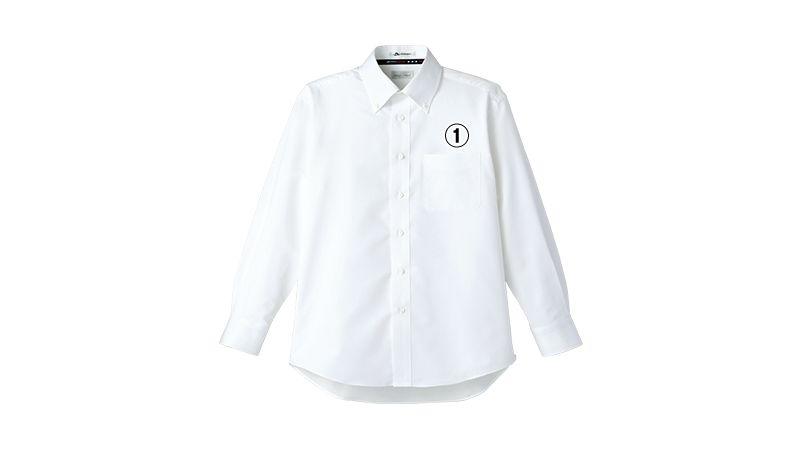 [在庫限り/返品交換不可]FB5014M FACEMIX 吸汗速乾シャツ/長袖(男性用)ボタンダウン 商品詳細・こだわりPOINT