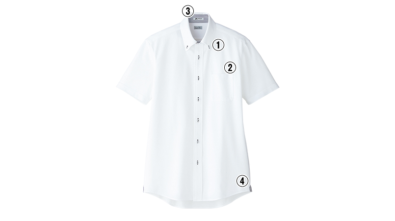 FB5027M FACEMIX ドライ 吸汗速乾ニットシャツ/半袖(男性用) 商品詳細・こだわりPOINT