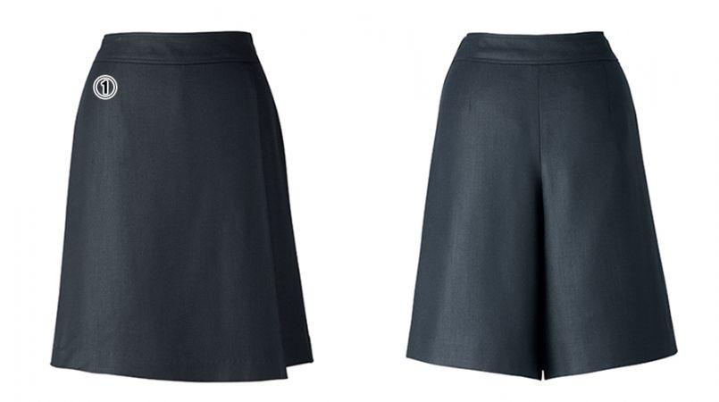 BONMAX LC3705 [春夏用]キュロット 無地 ケイティー エクロール 巻きスカート風 商品詳細・こだわりPOINT