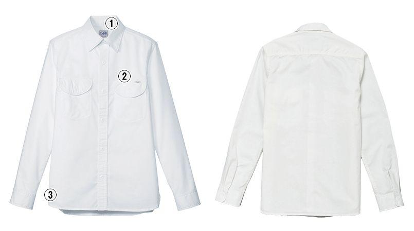 LCS46003 Lee シャンブレーシャツ/長袖(男性用) 商品詳細・こだわりPOINT