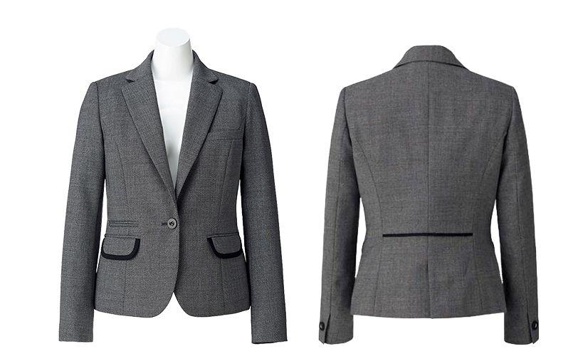 BONMAX LJ0165 [通年]プリエール ジャケット グレイのラメ入りツイード 商品詳細・こだわりPOINT