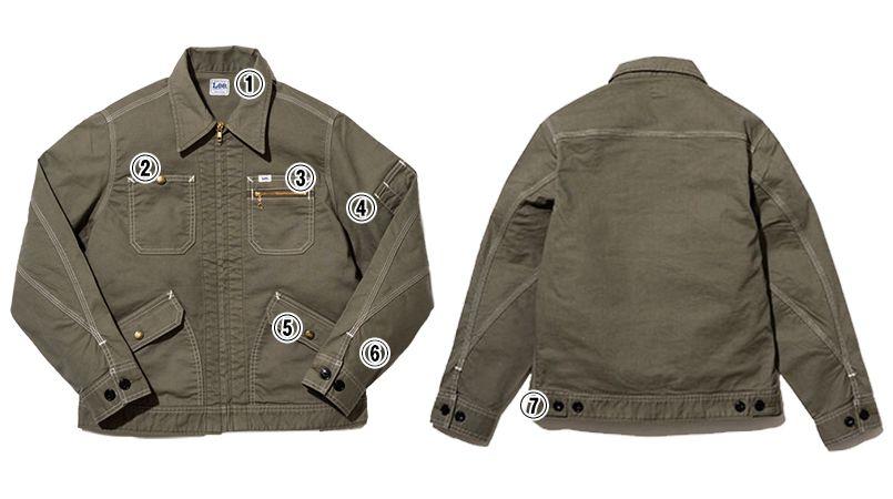 Lee LWB03002 [通年]ジップアップジャケット(女性用) 商品詳細・こだわりPOINT