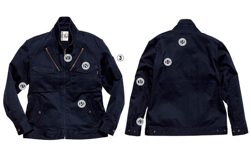 RJ0301 ROCKY フライトジャケット(女性用) 商品詳細・こだわりPOINT