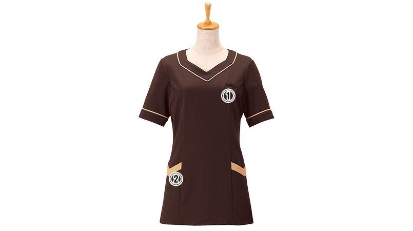 00105 BONUNI(ボストン商会) ニットワッフルシャツ/半袖(女性用) 商品詳細・こだわりPOINT