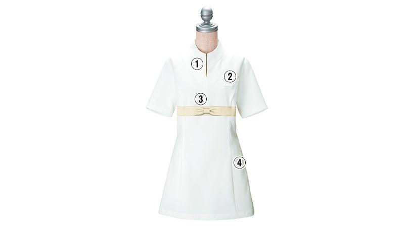 00115 BONUNI(ボストン商会) チュニックシャツ(女性用) 商品詳細・こだわりPOINT