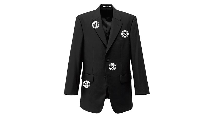 01105-05 BONUNI(ボストン商会) ディレクタージャケット(男性用) ノッチドラペル 商品詳細・こだわりPOINT