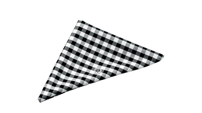 04007 BONUNI(ボストン商会) 三角チーフ(男女兼用) 先染チェック 商品詳細・こだわりPOINT