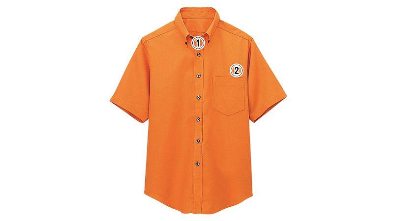 08932 BONUNI(ボストン商会) ボタンダウンシャツ/半袖(男女兼用)ワッフル 商品詳細・こだわりPOINT