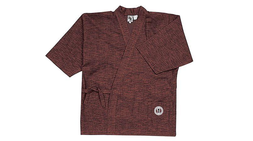09541 BONUNI(ボストン商会) 作務衣上衣(男女兼用) 扱き染 商品詳細・こだわりPOINT