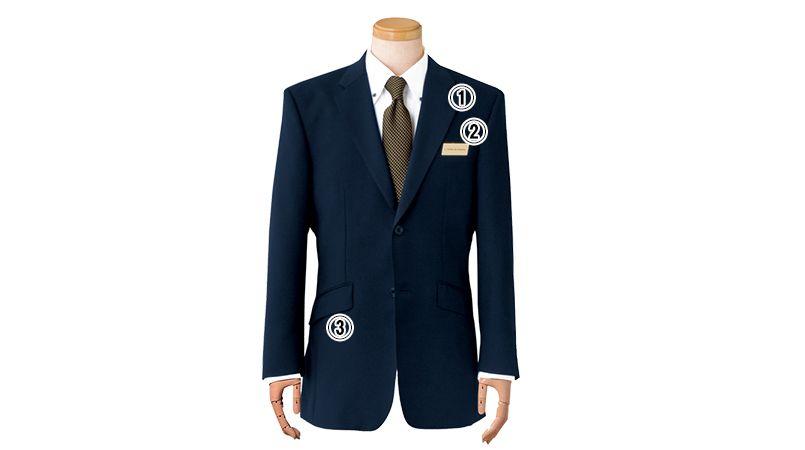 11111 BONUNI(ボストン商会) ジャケット(男性用) ノッチドラペル 商品詳細・こだわりPOINT