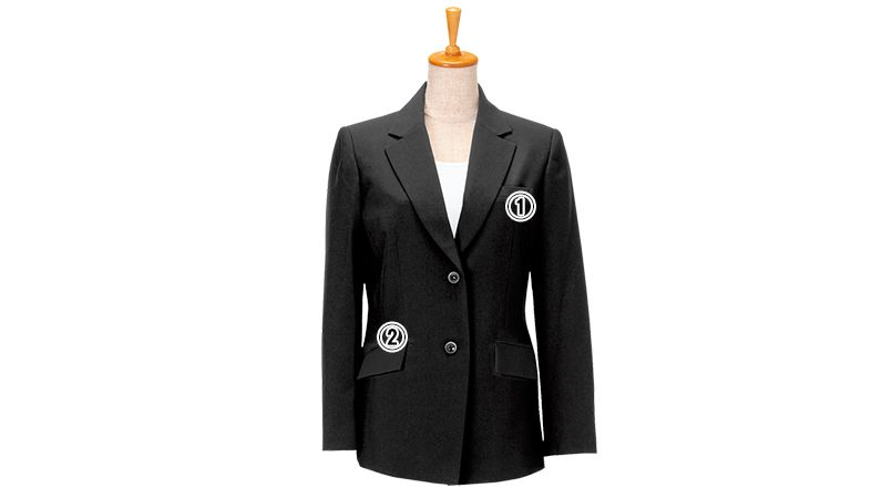 11204 BONUNI(ボストン商会) ジャケット(女性用) ノッチドラペル 商品詳細・こだわりPOINT