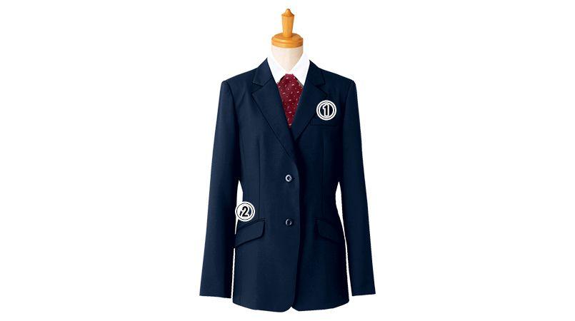 11211 BONUNI(ボストン商会) ジャケット(女性用) ノッチドラペル 商品詳細・こだわりPOINT